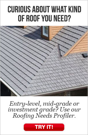 Curious about what kind of roofing you need?