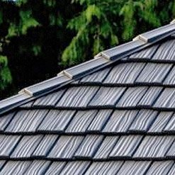 Metal shake roofing