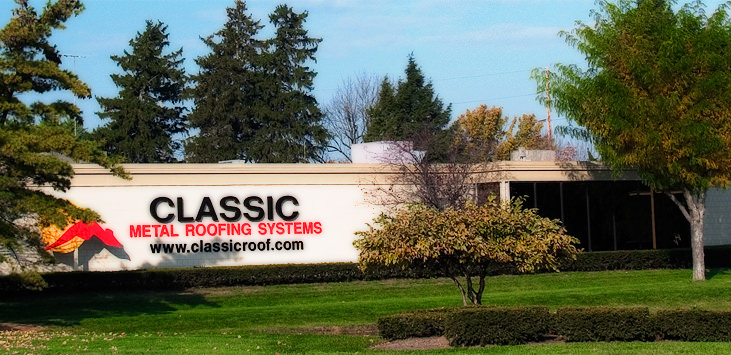 The Classic Metal Roofing Systems Sales & Marketing Office