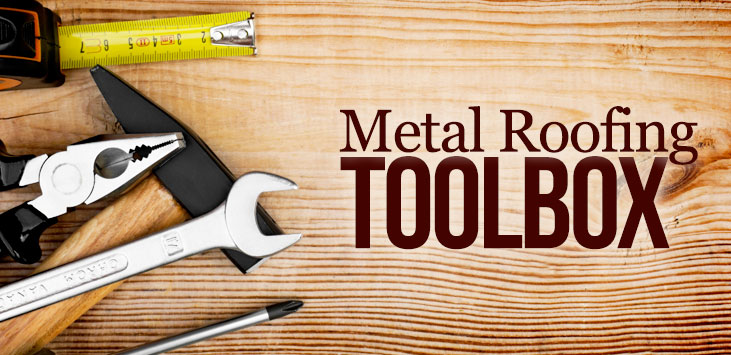 metal roofing toolbox