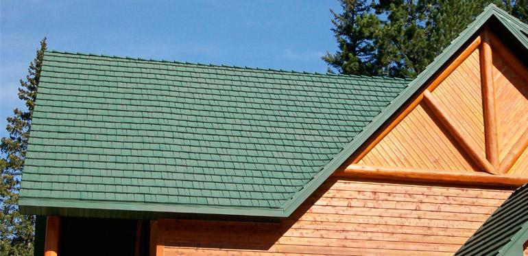 KasselShake steel roofing