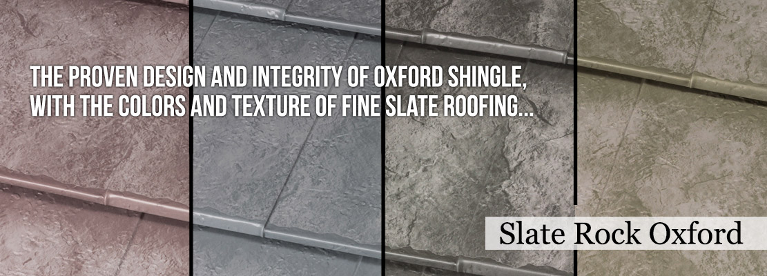 The Slate Rock Oxford Shingle