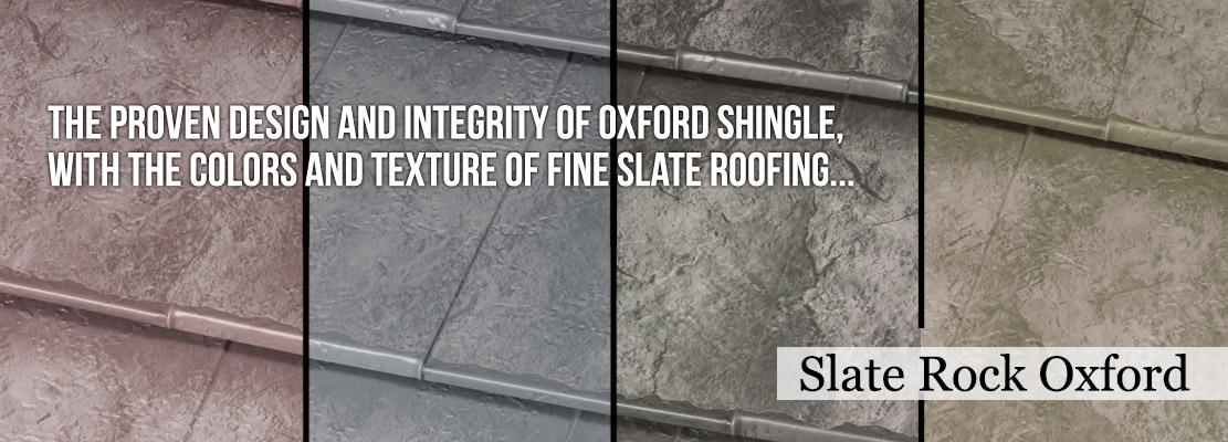 The Slate Rock Oxford Shingle
