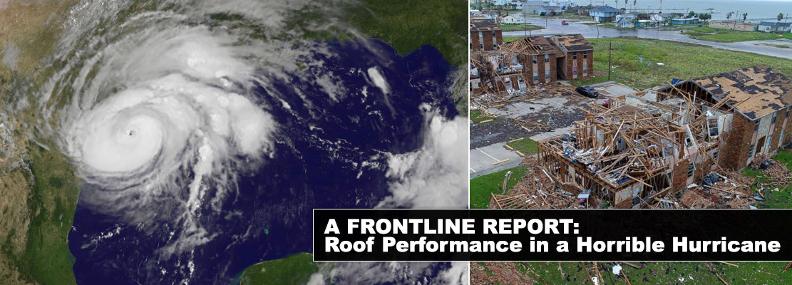 Read our Frontline Report: Roof Performance in a Horrible Hurricane