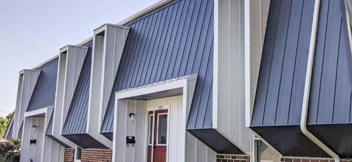 multi-family mansard roof