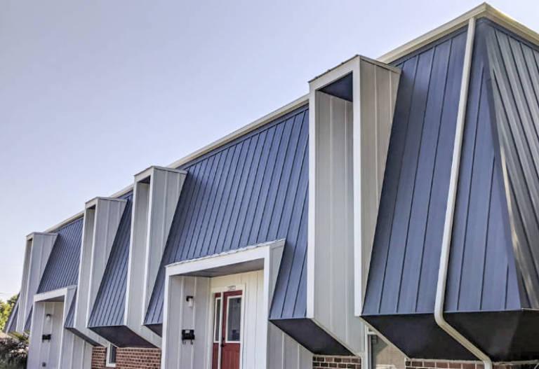 Mult-Family mansard roof