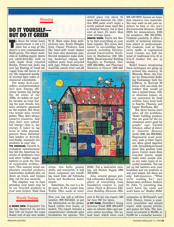 business week article 1994