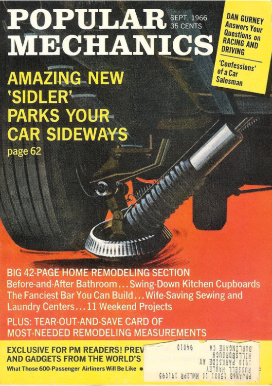 Popular Mechanics Article on Rustic Shingle 1966