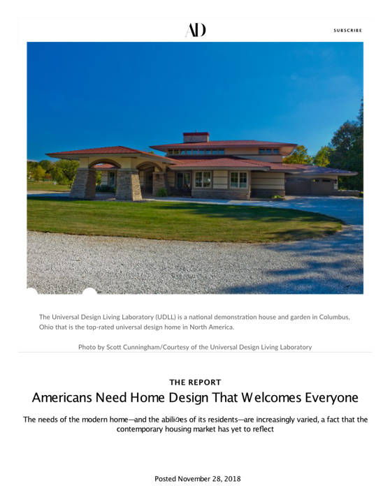 Americans Need Home Design That Welcomes Everyone (this home has an Oxford Shingle metal roof) | Architectural Digest
