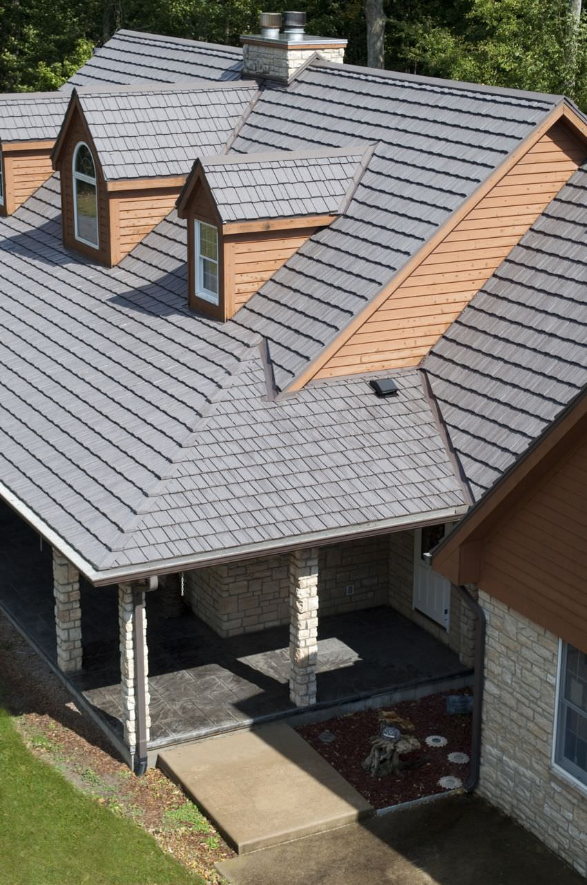 Country manor shake classic metal roofing systems for Tin roof styles