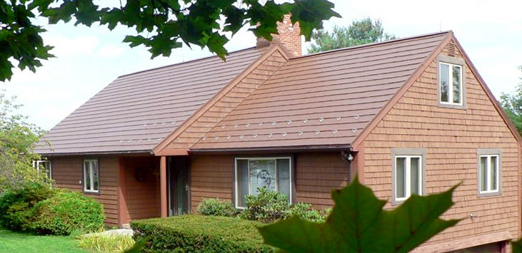Oxford shingle in mustang brown