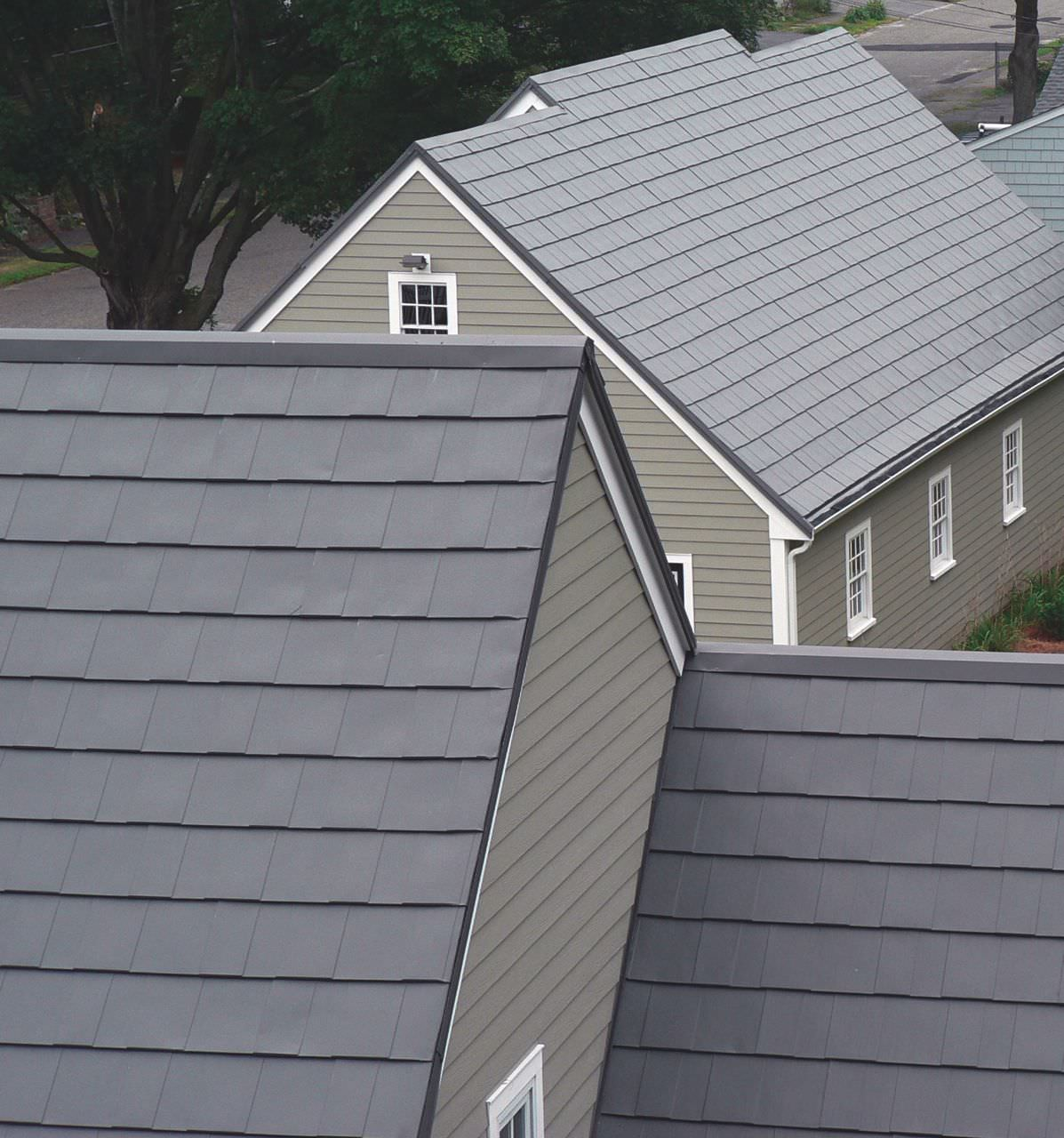 Oxford Metal Shingle CLASSIC Metal Roofing Systems – Reflective Roof Paint For Shingles