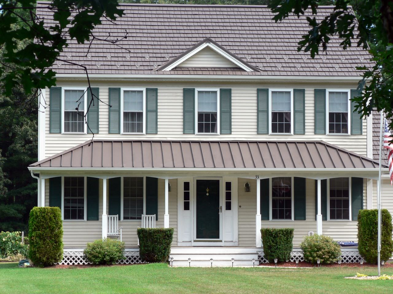 Rustic Shingle Classic Metal Roofing Systems