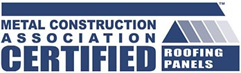 This product is Certified Premium under the Metal Construction Association Certified Roofing Panels program