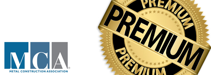 Certified Premium by the Metal Construction Association