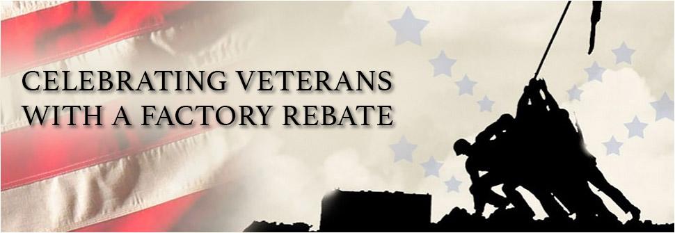 Veterans Rebate