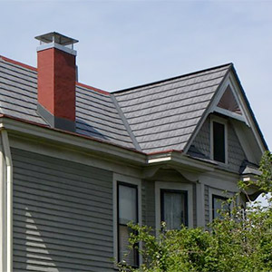 Oxford Slate Rock Metal Roofing