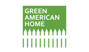 Green American Home logo