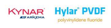 Kynar & Hylar logos