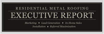 Residential Metal Roofing Executive Report logo