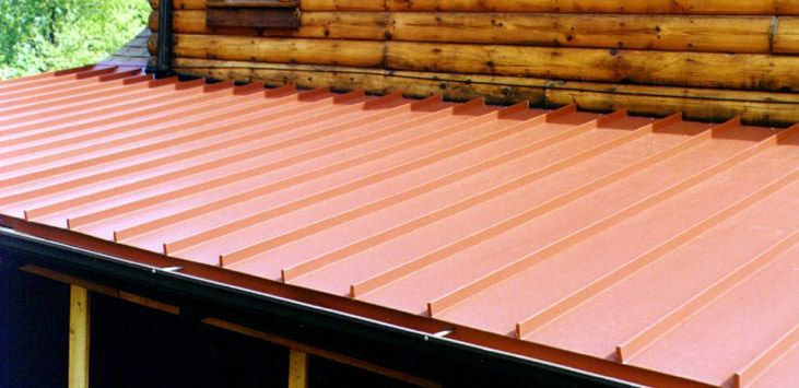 clicklock premium standing seam close up