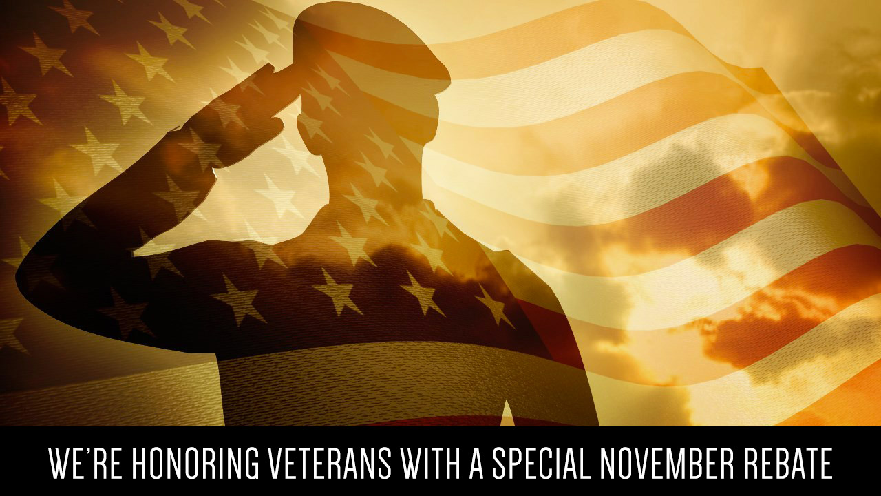 Veterans Rebate