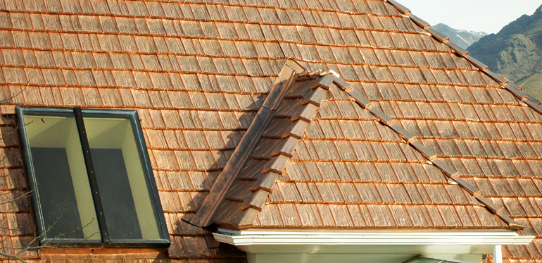 steel shingles in copper